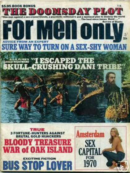 For Men Only - 2/1970