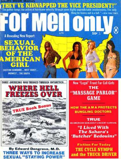 For Men Only - 4/1970