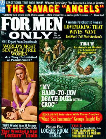 For Men Only - 11/1970