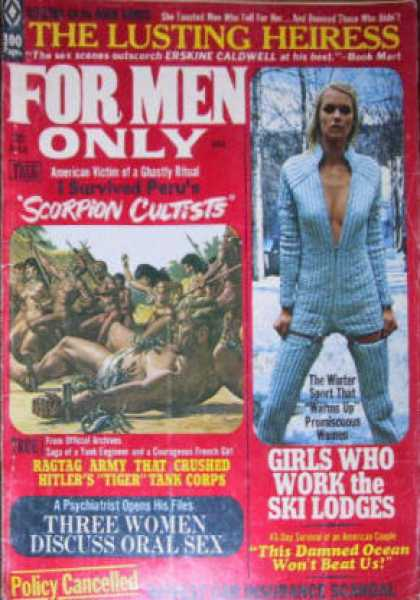For Men Only - 3/1971