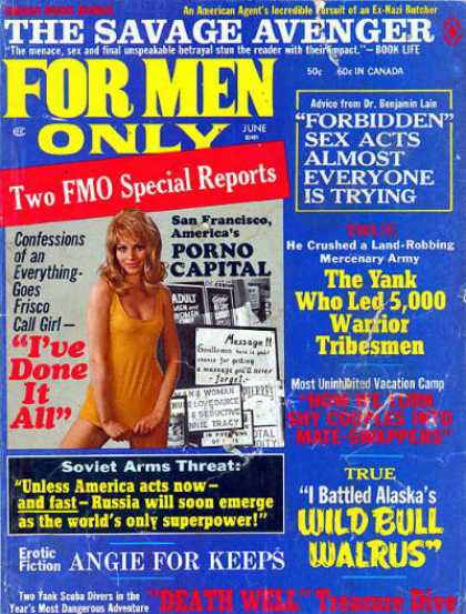 For Men Only - 6/1971