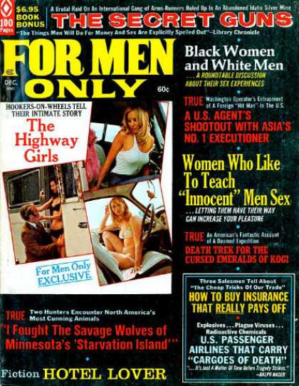 For Men Only - 12/1972