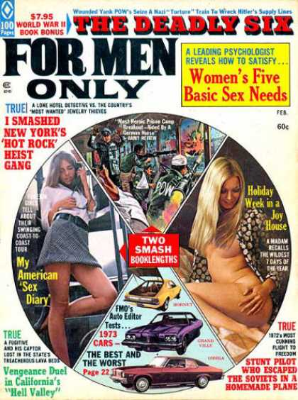 For Men Only - 2/1973