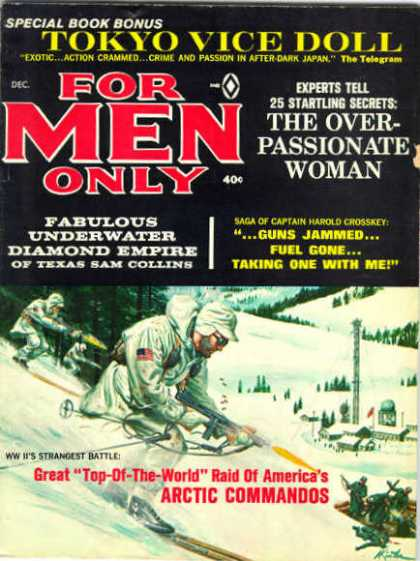 For Men Only - 12/1955