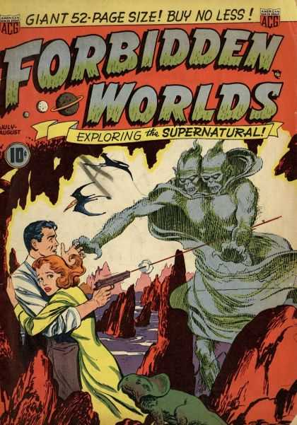 Forbidden Worlds 1 - Gigantic - Supernatural - Other-worldly - Ghostly - Harrowing