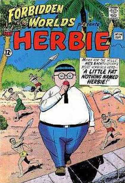 Forbidden Worlds 114 - Herbie - No 114 - Septemer - A Little Fat Nothing Named Herbie - Island