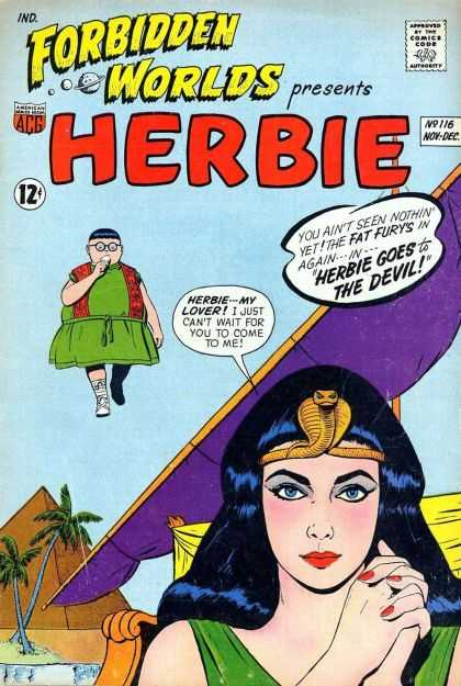 Forbidden Worlds 116 - Herbie - My Lover - Fat Furys - The Devil - Presents