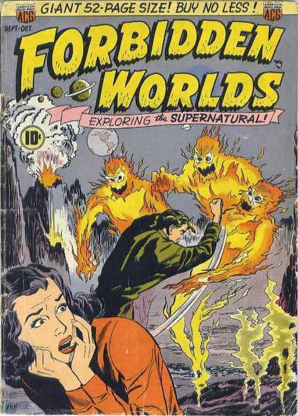 Forbidden Worlds 2 - Exploring The Supernatural - Saving Women From Evil - Fire Spirits - Clairvoyant - World Of Evil