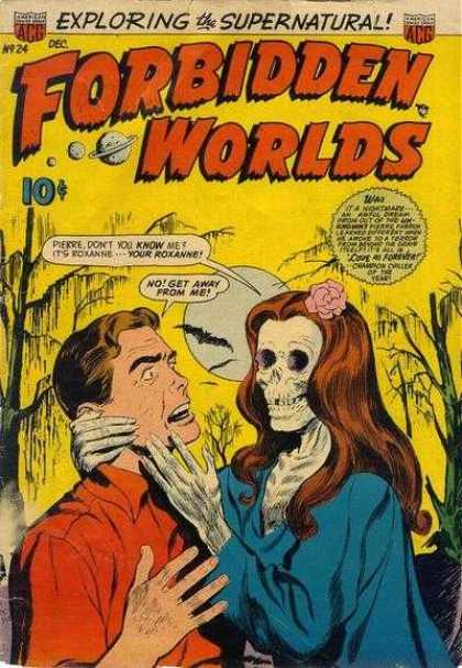 Forbidden Worlds 24 - Forbidden Worlds - Supernatural - Corpse - Man
