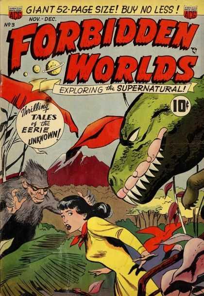 Forbidden Worlds 3 - Dinosaur