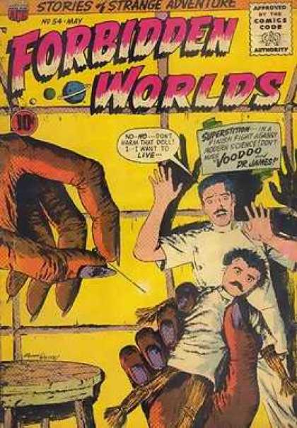 Forbidden Worlds 54 - Voodoo - Stories - For Strange Adventure - No 54 May - Doll