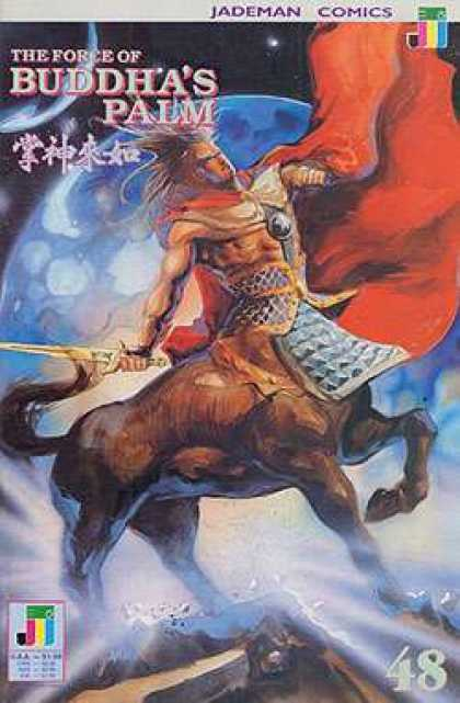 Force of Buddha's Palm 48 - 48 - Half Man - Half Horse - Planet - Sword
