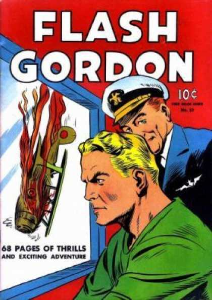 Four Color 10 - Flash Gordon - 10c - 68 Pages Of The Thrills U0026 Exciting Adventure - No38
