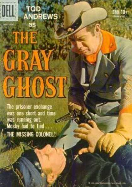 Four Color 1000 - The Gray Ghost - Tod Andrews - The Missing Colonel - Mosby - Cowboy