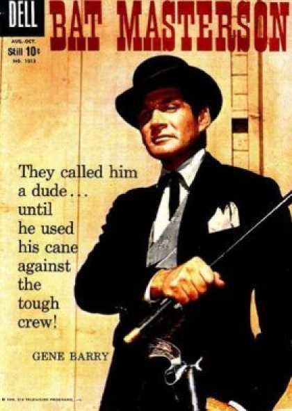 Four Color 1013 - Gun - Cane - Dude - Bat Masterson - Tough