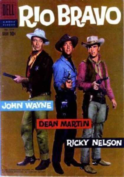 Four Color 1018 - Dell - Western - Movie - John Wayne - Dean Martin