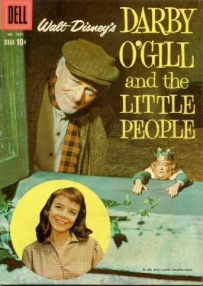 Four Color 1024 - Little Gill - Walt Disney - Darby Ogill - Girl - Window
