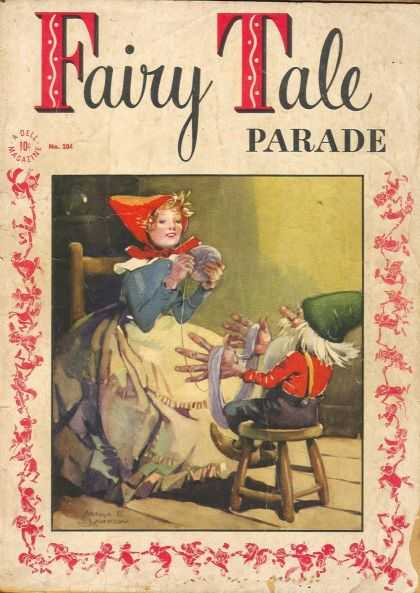 Four Color 104 - Dell - Magazine - Fairy Tale - Parade - Chair