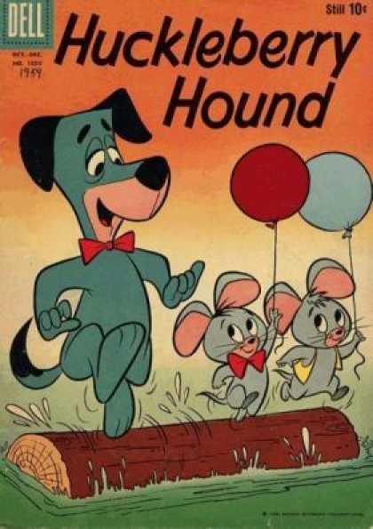 Four Color 1050 - Hound - Mice - Balloons - Log Roll - Water