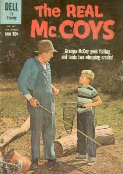 Four Color 1071 - Real Mccoys - Grampa - Fishing - Grandson - Net