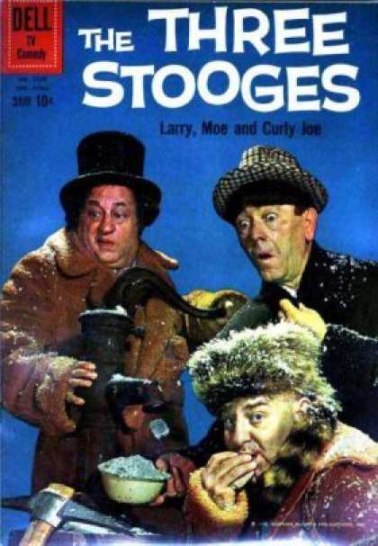 Four Color 1078 - Dell - The Three Stooges - Men - Winter Hats - Ice