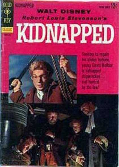 Four Color 1101 - Boy - Kidnapped - Rescue - Help - Mystery