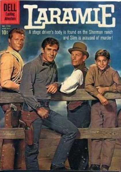 Four Color 1125 - Dead Body On Sherman Ranch - Cowboys - From Boys To Men - A Mans Man - Slim Is Accused Of Murder