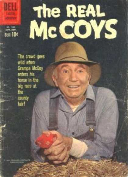 Four Color 1134 - Mc Coys Comics - The Old Men - Animal Saver - A Social Worker - Genius Men