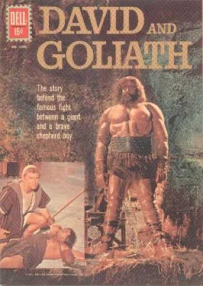 Four Color 1205 - David - Goliath - Dell - Famous - Fight
