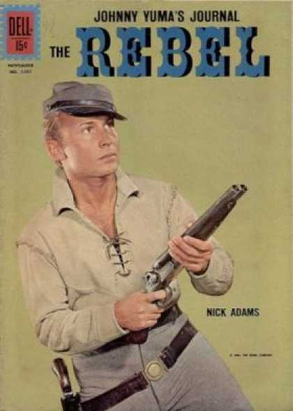 Four Color 1207 - Dell - Johnny Yumas Journal - The Rebel - Nick Adams - Gun