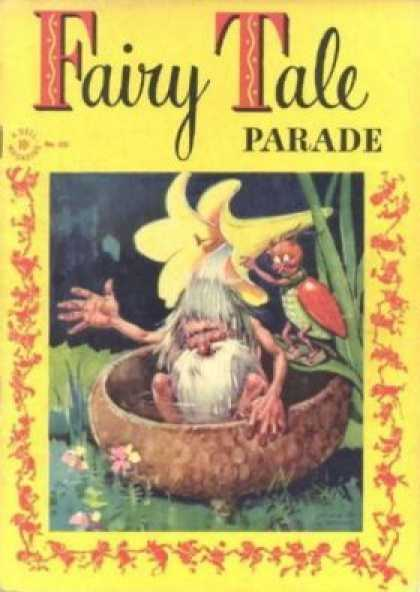 Four Color 121 - Fairy Tale Parade - Lady Bug - Gnome - Flower Shower - Meadow