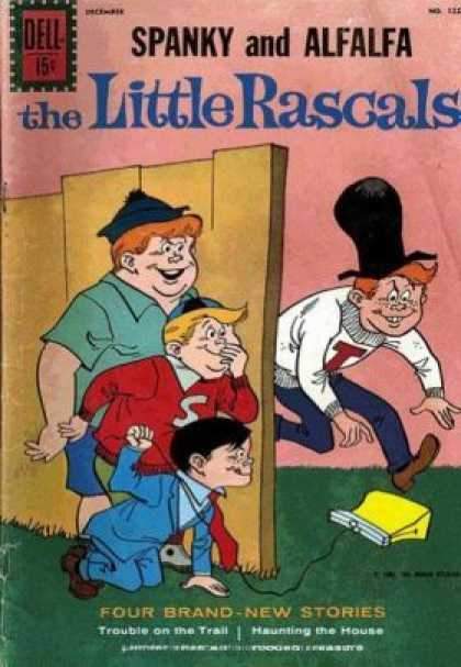 Four Color 1224 - Dell - Spanky - Alfalfa - The Little Rascals - Cap