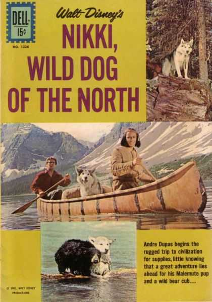 Four Color 1226 - Nikki - Wild Dog - The North - Walt Disney - Dell