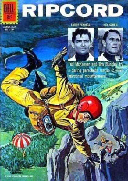 Four Color 1294 - Flyers - In Air - Dell - Gliders - Helmet Man