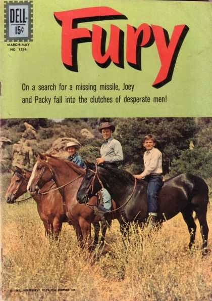 Four Color 1296 - Fury - Dell - Packy - Desperate - Joey