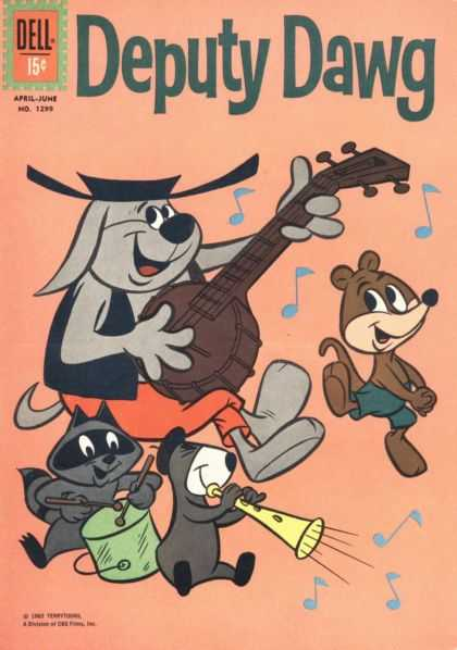 Four Color 1299 - Dog - Banjo - Sing - Music - Racoon