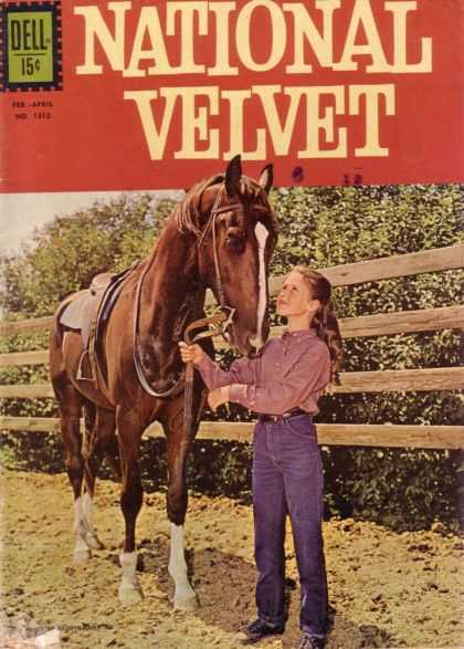 Four Color 1312 - Horse - Dell - National Velvet - Fer-april - Woman