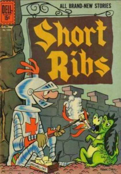 Four Color 1333 - Short Ribs - Knight - Dragon - Dell 15 Cents - Marshmallow