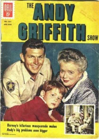 Four Color 1341 - The Andy Griffith Show - Barney - Problems - Bigger - Masquerade