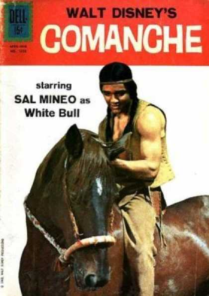 Four Color 1350 - Comanche - Sal Mineo - White Bull - Native American - Brown Horse