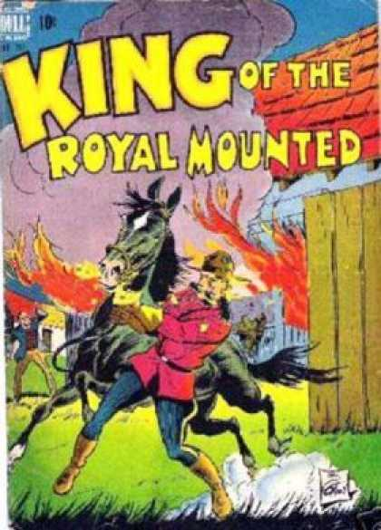 Four Color 207 - Dell Comics - Royal Mounted Police - Canada - Horses - Silver Age