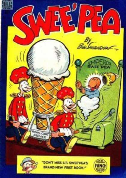 Four Color 219 - Emperor - Sweepea - Royal Cone Service - Ice Cream - First Book