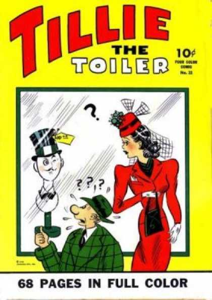 Four Color 22 - Tillie - The Toiler - 68 Pages In Full Color - Cap - No28