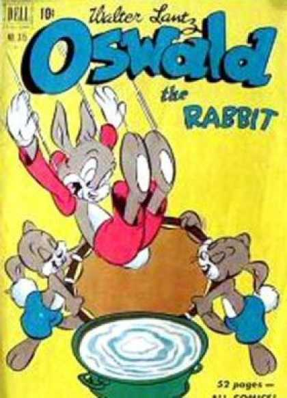 Four Color 315 - Rabbit - Oswald - Trampoline - Water - Jump