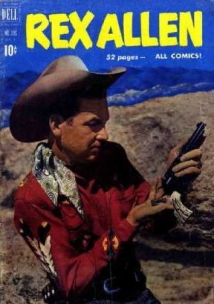 Four Color 316 - Dell - 10 Cents - 52 Pages - All Comics - Cowboy