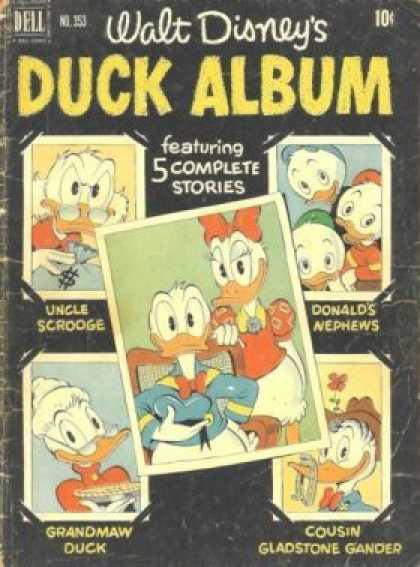 Four Color 353 - Ducks - Donalds Nephew - Donalds Cousin - Donalds Wife - Uncle Scrooge