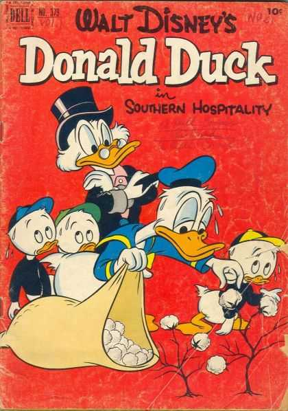 Four Color 379 - Scrooge - Donald Duck - Southern Hospitality - Cotton - Bag