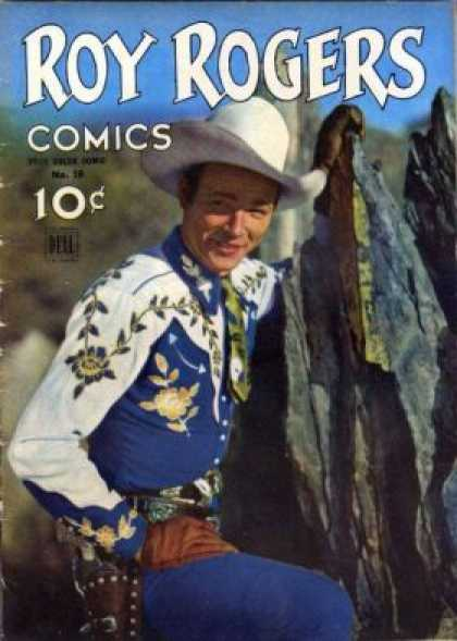 Four Color 38 - Roy Rogers - Roy Rogers Comics - Comics - Dell - 10c