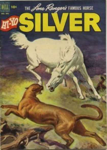 Four Color 392 - Silver - Horse - Animals - Famous Horse - Hi-yo