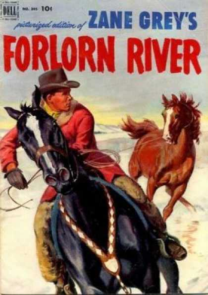 Four Color 395 - Zane Grey - Horses - Cowboy - Western - Rustler